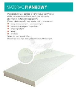 Materac piankowy T25
